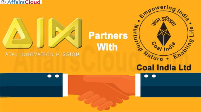 Atal Innovation Mission partners with Coal India Ltd