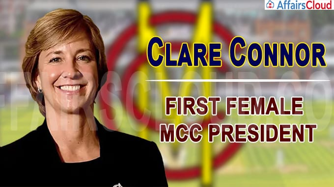 Cricketer Clare Connor to be first female MCC president