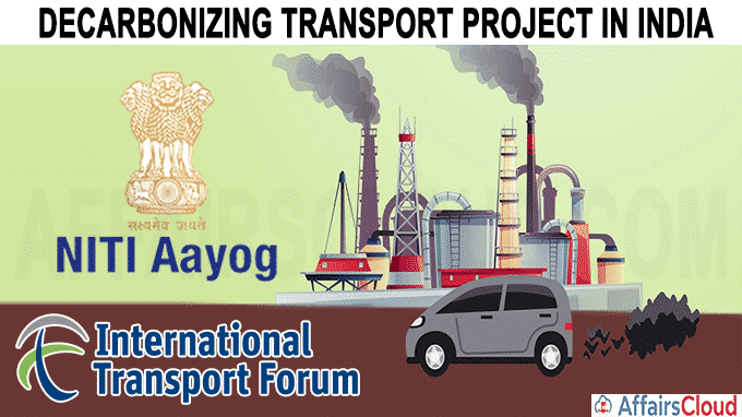 Decarbonizing Transport Project in India