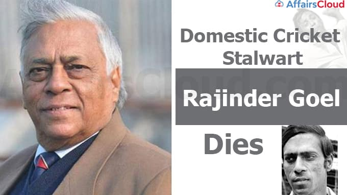 Domestic-cricket-stalwart,left-arm-spinner-Rajinder-Goel-dies