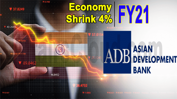 Economy to shrink 4%