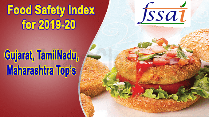 FSSAI food safety index for 2019-20
