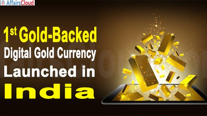 First Gold-backed Digital Gold Currency