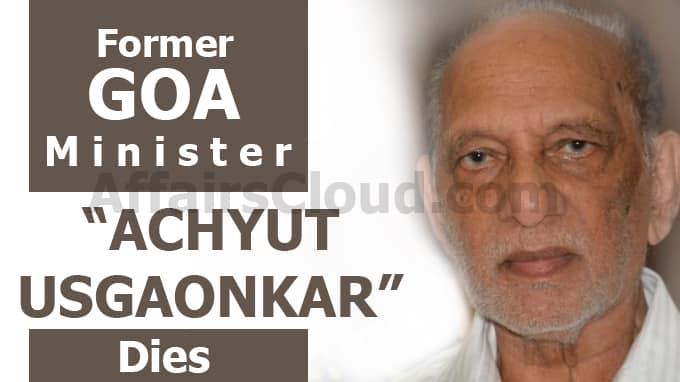 Former-Goa-minister-Achyut-Usgaonkar-dies