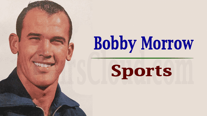 Former Olympic sprint champion Bobby Morrow