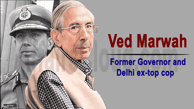 Former governor and Delhi ex-top cop