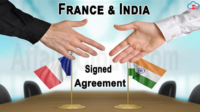 France and India signed an agreement