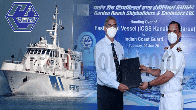 GRSE delivers fifth ship in Fast Patrol Vessels' series to Indian Coast Guard