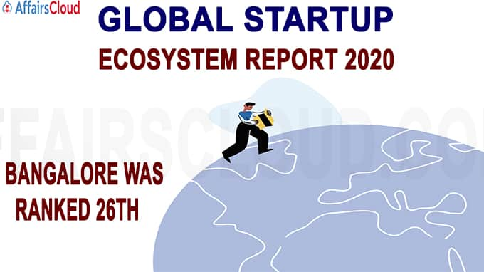 Global Startup Ecosystem Report 2020