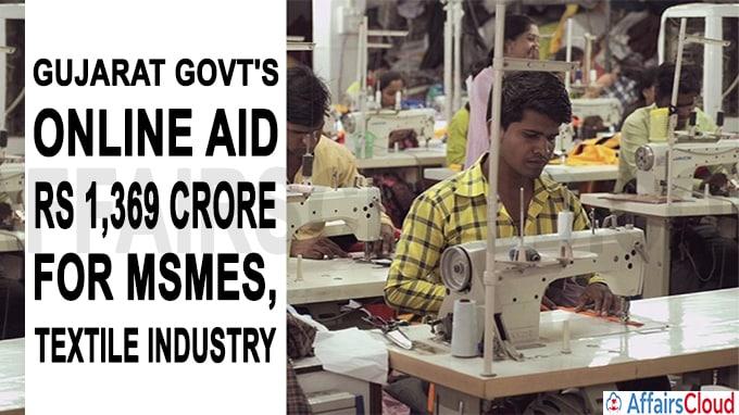 Gujarat govt''s online aid