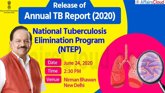 Harsh Vardhan releases Annual TB Report 2020 new