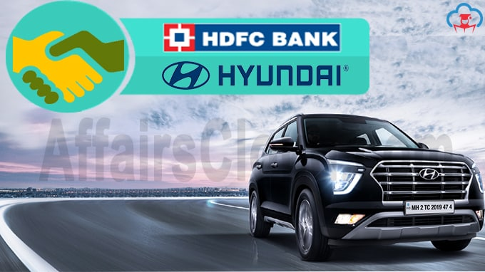 Hyundai ties up with HDFC Bank for retail financing