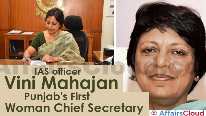 IAS-officer-Vini-Mahajan-appointed-as-Punjab's-first-woman-Chief-Secretary