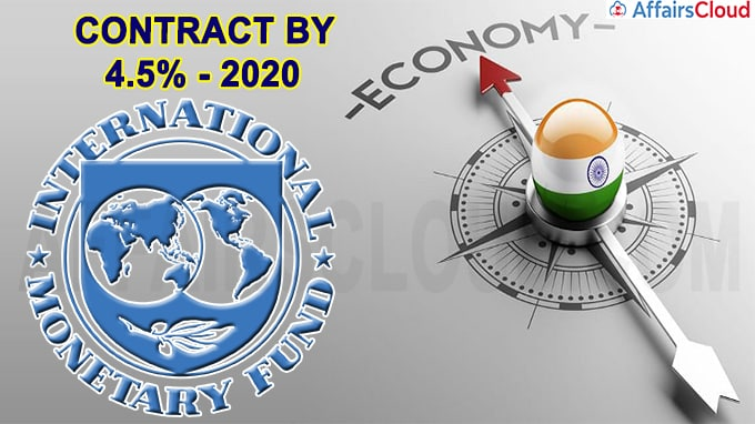IMF projects sharp contraction of 4