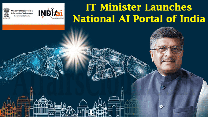 IT Minister Launches National AI Portal of India