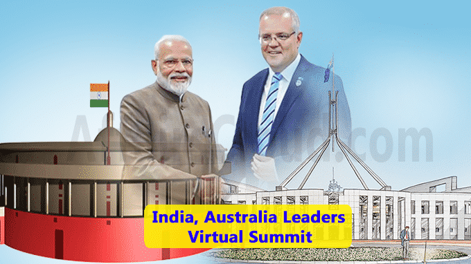 India, Australia Leaders summit