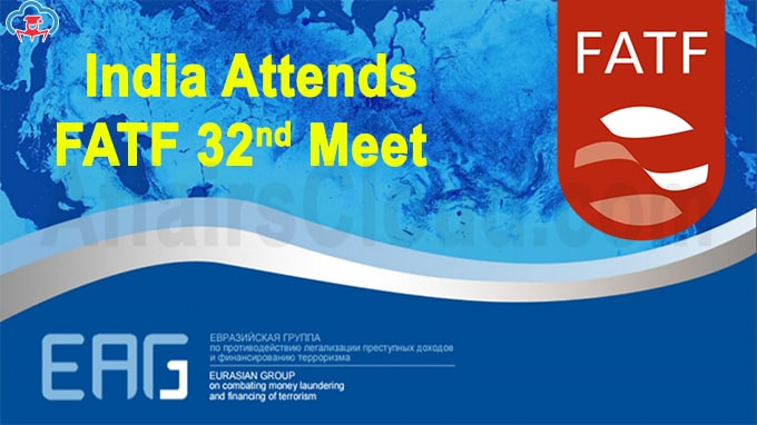 India attends FATF group meeting