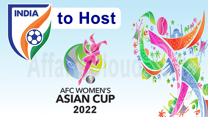India to host AFC Women's Asian Cup