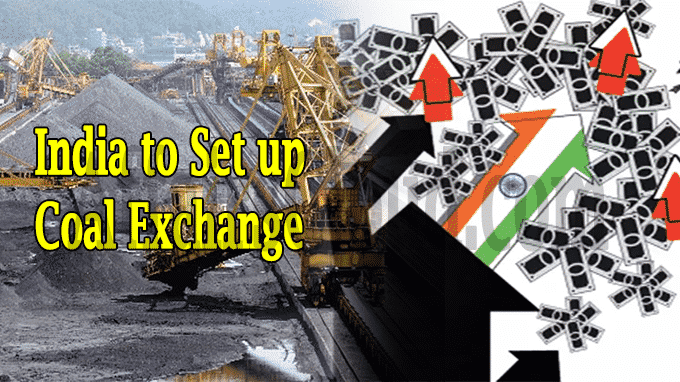 India to set up Coal Exchange