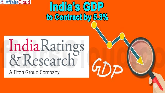 India's GDP to contract by 5