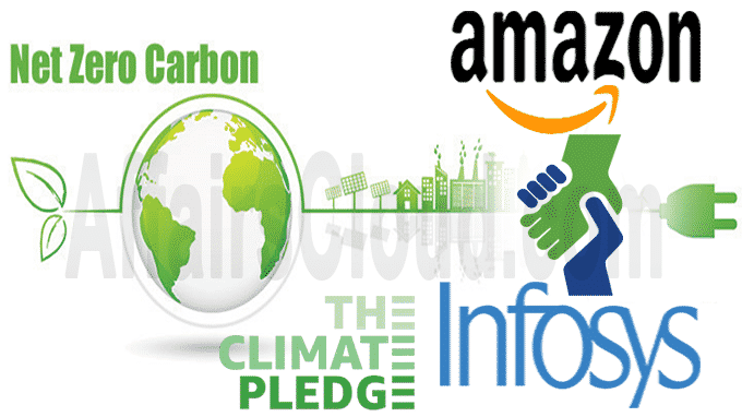 Infosys joins Amazon, signs Climate Pledge
