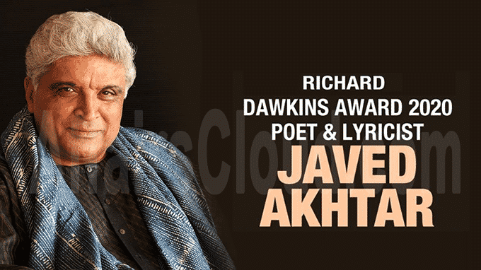 Javed Akhtar becomes first Indian to receive Richard Dawkins Award