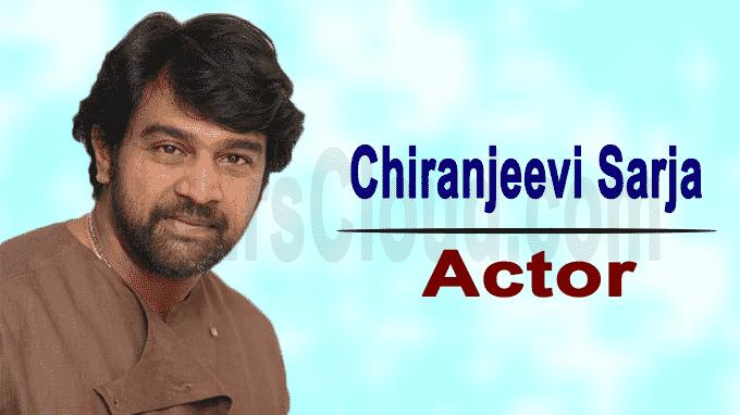 Kannada actor Chiranjeevi Sarja