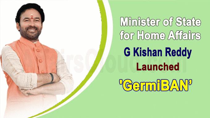 Kishan Reddy launches microbe-killing device GermiBAN