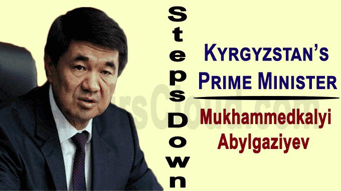 Kyrgyzstan's Prime Minister Mukhammedkalyi Abylgaziyev