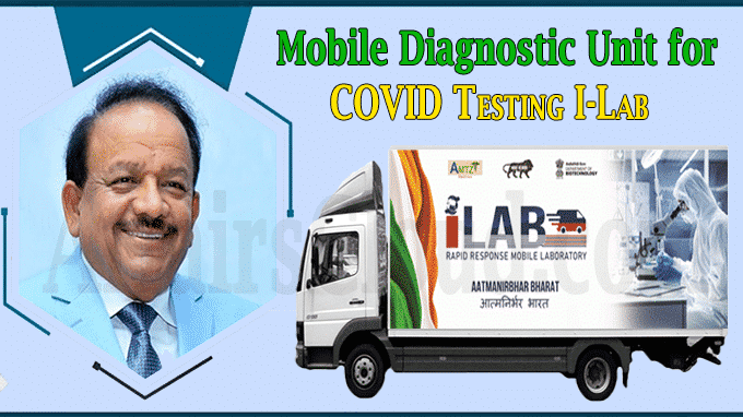 Mobile Diagnostic Unit for COVID Testing I-Lab