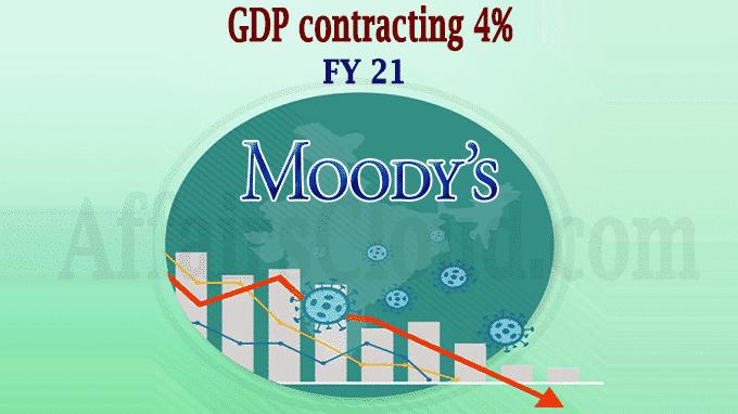 Moody's downgrades India's rating