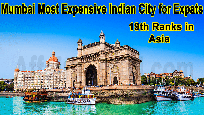 Mumbai most expensive Indian city for expats
