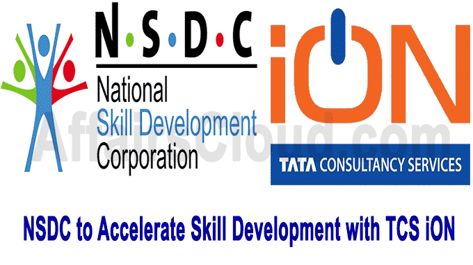 NSDC to Accelerate Skill Development with TCS iON