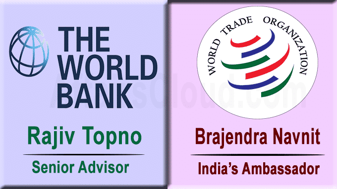 Rajiv Topno to be senior advisor at World Bank