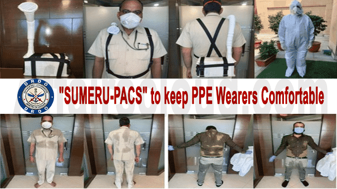 SUMERU-PACS to keep PPE wearers comfortable