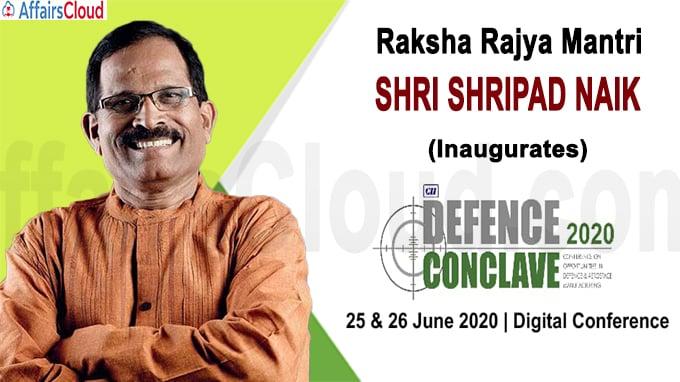 Shri Shripad Naik Defence Conclave 2020 Gujarat