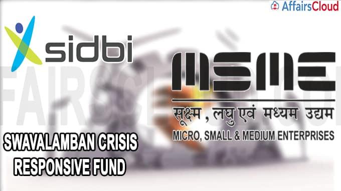 Sidbi sets up Swavalamban Crisis Responsive Fund