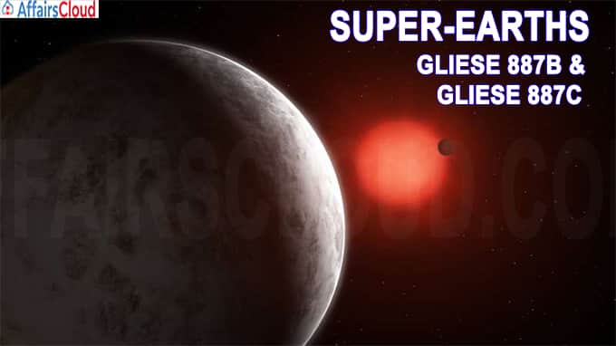 Super-Earths Gliese 887b & Gliese 887c discovered