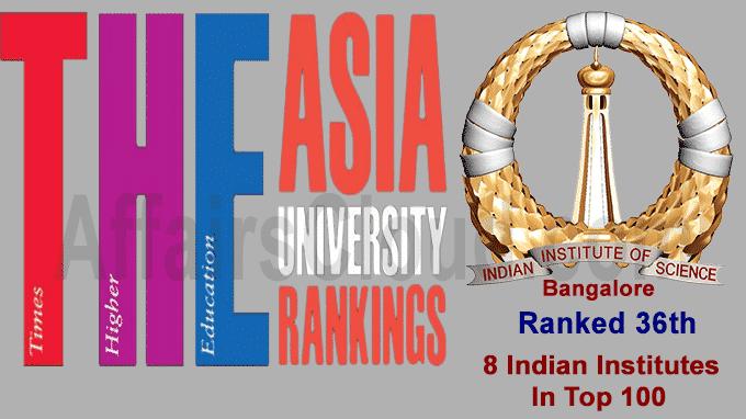 THE Asia University Ranking 2020