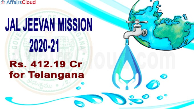 Telangana under Jal Jeevan Mission