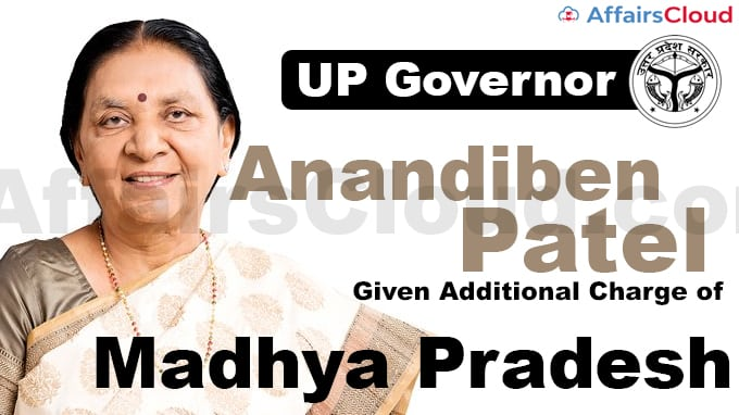 UP-Governor-Anandiben-Patel-given-additional-charge-of-Madhya-Pradesh
