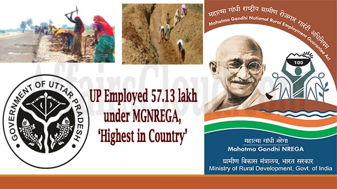 UP employed under MGNREGA, 'highest in country'