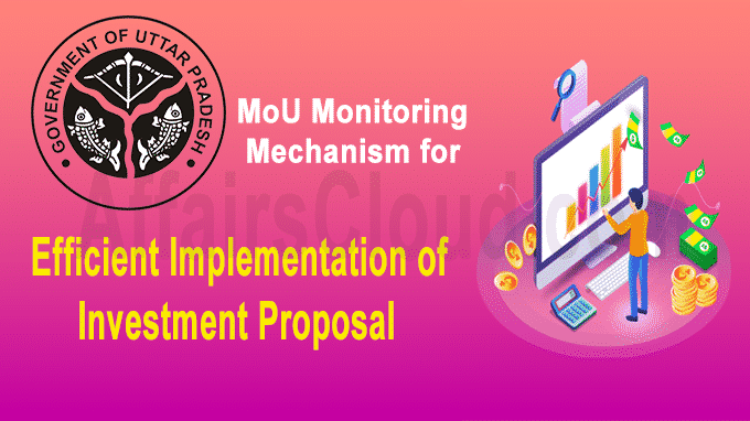 UP introduces a MoU Monitoring Mechanism