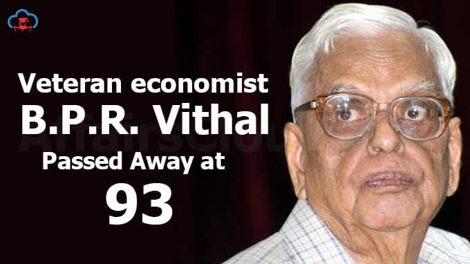 Veteran-economist-B.P