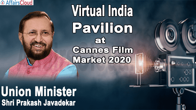 Virtual India Pavilion at Cannes Film Market 2020