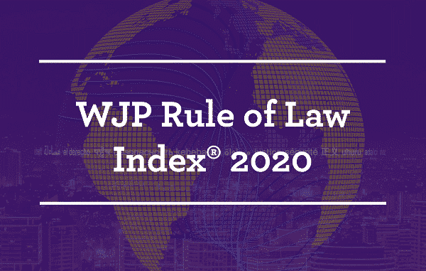 WJP Rule of Law Index 2020