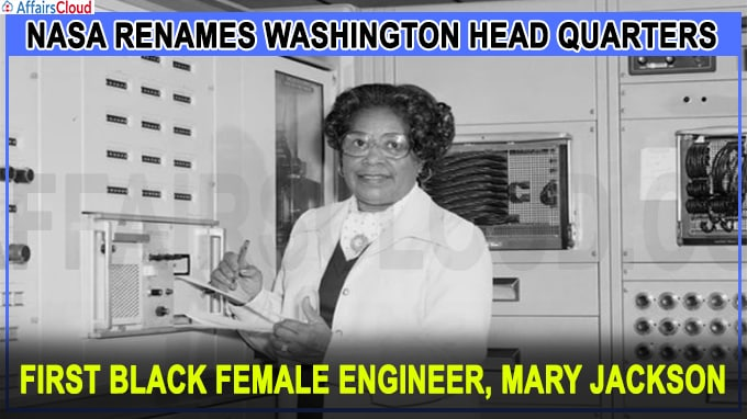 first black female engineer, Mary Jackson