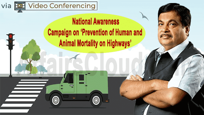national awareness campaign Prevention of Human and Animal Mortality on Highways