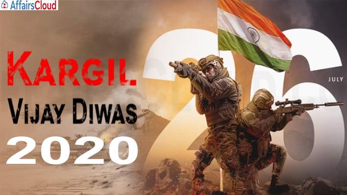 21st Kargil Vijay Diwas 2020