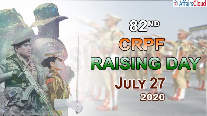 82nd CRPF Raising Day